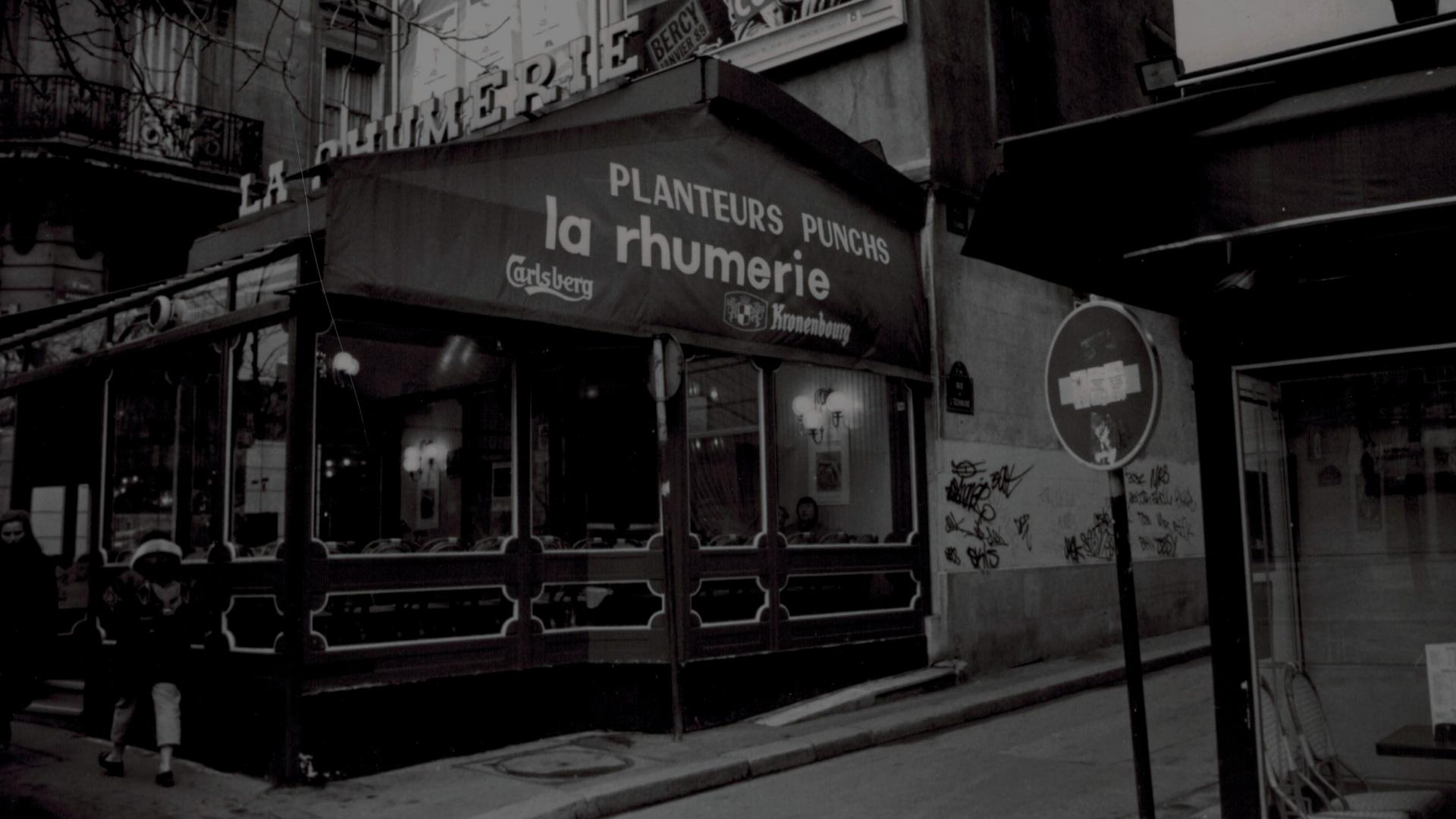 La Rhumerie en 1970 avec filtre