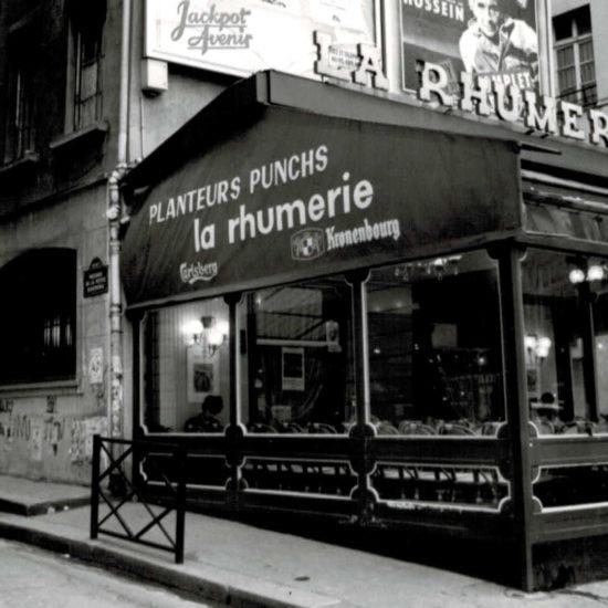La Rhumerie en 1970