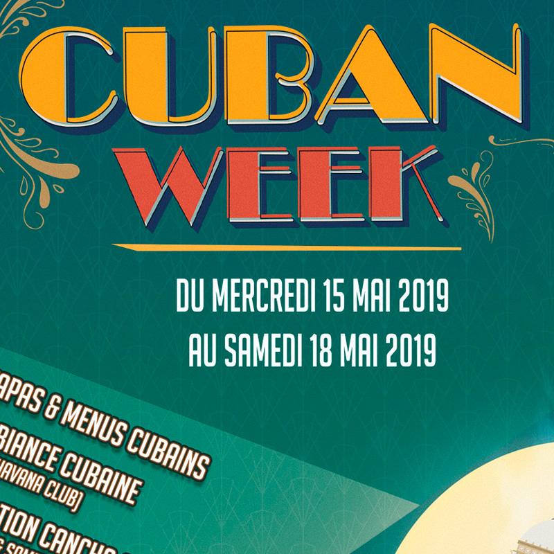 Cuban week du 15 au 18 mai 2019