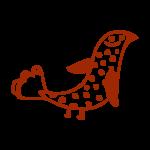 La Rhumerie, oiseau à points droite