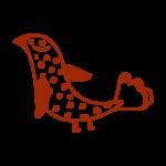 La Rhumerie, oiseau à points gauche