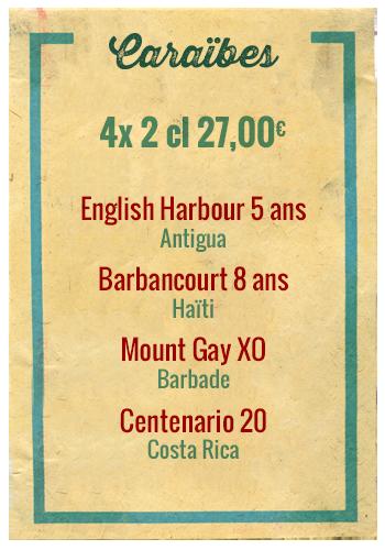 Planchette Caraîbes