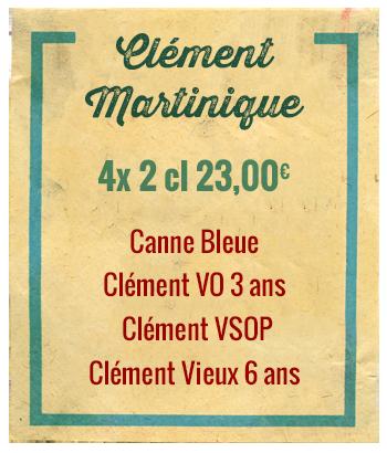 Planchette Clément Martinique