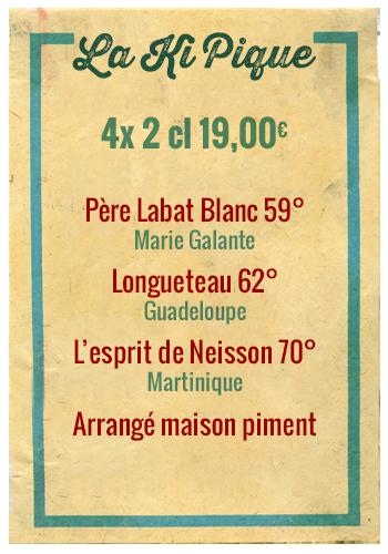 Planchette La Ki Pique