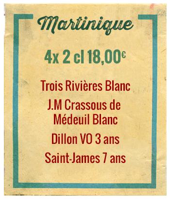Planchette Martinique