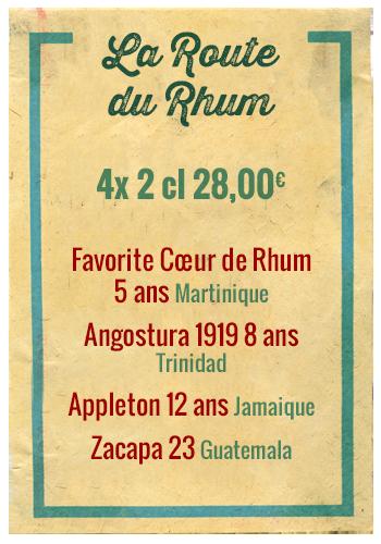 Planchette La Route des Rhum