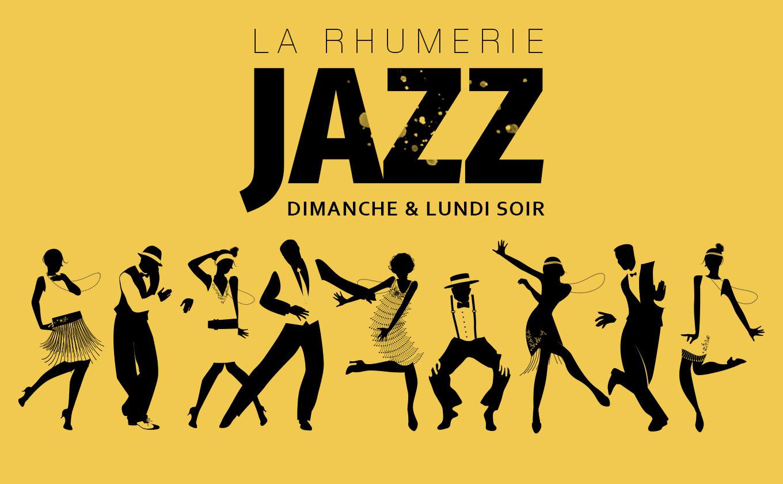 Jazz à La Rhumerie, tous les dimanche & lundi soir